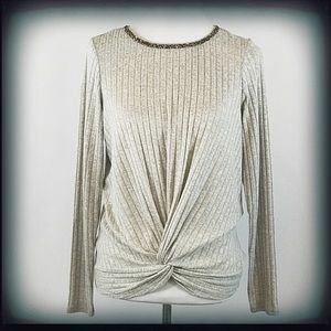 Juicy Couture Ribbed Crew Neck Sweater NWT